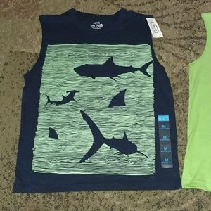 Lot of 2 Boys Childrens place tanks